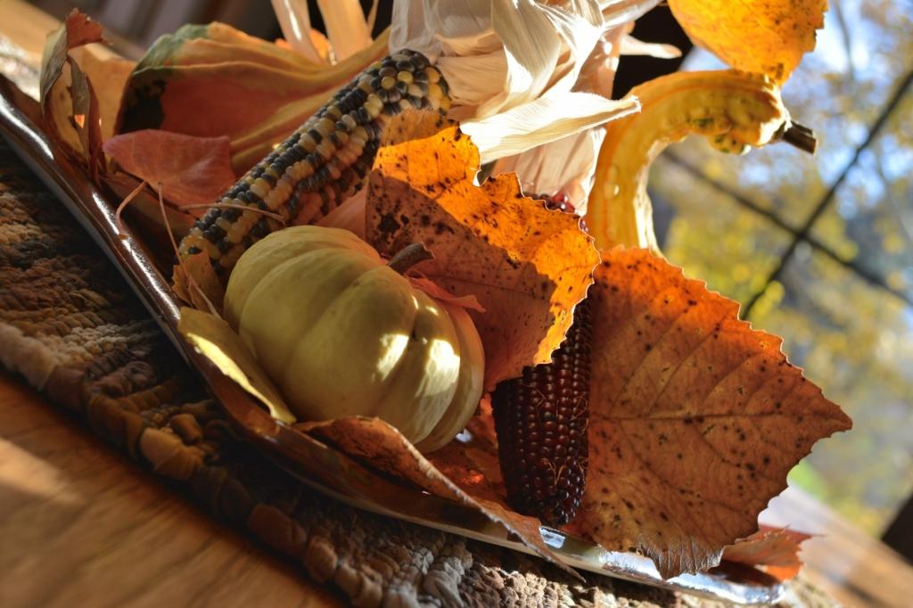 Harvest Table Center Piece