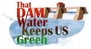 Dam party logo