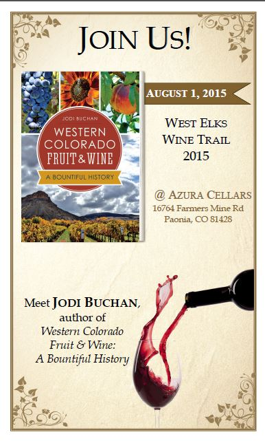 West Elks Wine Trail signing poster image